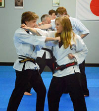 Teen & Adult Karate Black Belts