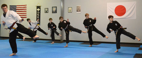 Kids Karate Classes in Holliston, MA